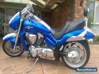 SUZUKI M109R BOULEVARD 07 LIMITED EDITION MODEL - BLUE WHITE