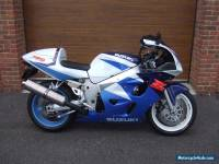 1997/R Suzuki GSXR 600 SRAD with only 7,700m in White/Blue