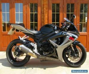 2007/07 Suzuki GSXR 600 K6 - LOW MILEAGE/FSH/SCORPION EXHAUST/CRASH BUNGS/SCREEN for Sale