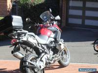 BMW R1200GS motorcycle 2011