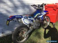 WRF 250 Motor Bike