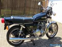 Suzuki GS750E Motorcycle - 1978 Black