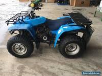 Yamaha quad bike, 350cc, blue