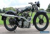 BSA 500cc OHV  Bluestar W32/7 in perfect restored condition with German papers  for Sale