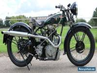 BSA 500cc OHV  Bluestar W32/7 in perfect restored condition with German papers