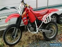 HONDA CR 125 1989 EVO, PROJECT, RESTORED, BARN FIND YZ KX RM