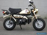 Honda Z50 J LTD Edition gold plated Monkey Bike Easy Project