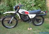 Yamaha DT175, DT 175 MX 1978 road legal UK bike Classic Enduro Restoration for Sale