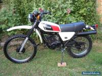 Yamaha DT175, DT 175 MX 1978 road legal UK bike Classic Enduro Restoration