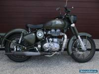 2015 Royal Enfield 500 Bullet Classic (Battle Green) Motorcycle