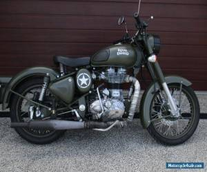 2015 Royal Enfield 500 Bullet Classic (Battle Green) Motorcycle for Sale