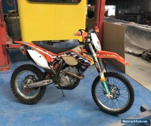 2014 KTM 350 EXC-F Dirt Bike 91 Hours Dirt Bike KTM 350 Dirt Bike Enduro for Sale
