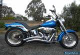 HARLEY DAVIDSON FLSTC  HEAPS OF CUSTOM PARTS LOOKS AND SOUNDS AWESOME for Sale