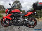 BENELLI EN 600cc LAMS APPROVED 2014 AS BRAND NEW UNDER 10,000ks for Sale