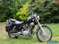 Yamaha Virago 250 motor bike, get ready for Spring riding.