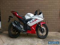2014 Yamaha YZF R15 YZFR 150 for restoration, parts or wrecking.