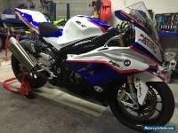 2015 BMW S1000RR race track bike