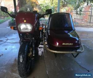 SOLD PENDING PAYMENT Suzuki GSX1100F Outfit with leading link for Sale