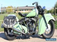 Indian Big Chief Bonneville 1946 with electric start and dutch papers