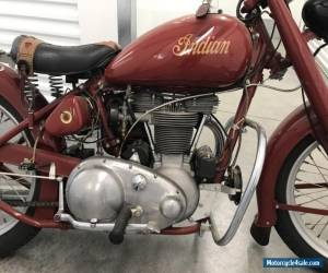 Motorcycle 1949 Indian Arrow for Sale
