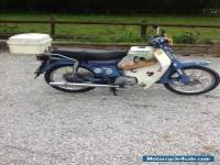 Honda c90  cub adventure motorcycle
