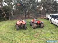 Honda Quad bike x2