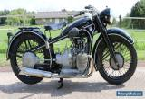 BMW 1940 R12 ex german Wehrmacht machine 750cc boxer in good running condition  for Sale