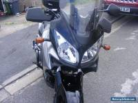 DL1000 Gray V-Strom well clean and maintained bike
