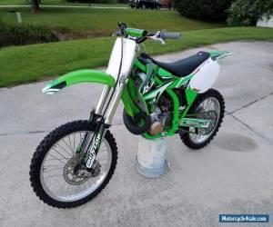 2001 Kawasaki KX for Sale