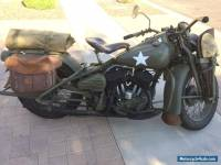 1943 Harley-Davidson 42WLA .45 Solo WWII Military Motorcycle Vehicle