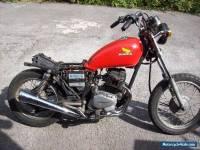 1983 honda cm125 bobber project