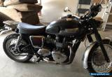 2012 Triumph Bonneville for Sale
