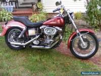 1975 Harley-Davidson Super Glide FXE