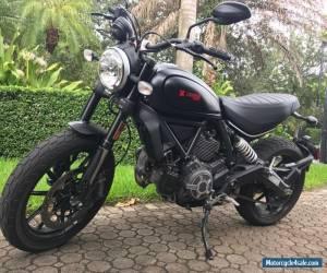 2015 Ducati Scrambler for Sale