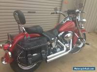"Harley Davidson 2006 heritage ""FIREMANS SPECIAL EDITION"""