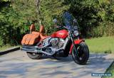 2015 Indian scout for Sale