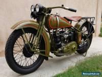 1929 Harley-Davidson D
