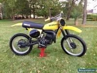 1977 Suzuki RM