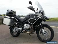 BMW R1200gsa motorcycle