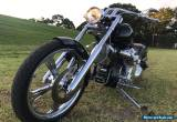 Harley Davidson softail supercharged fresh build plus so many spares for Sale