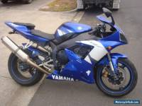 YAMAHA YZF R1 2002 MODEL Fi BLUE CHEAP 1000cc SPORTS BIKE CBR ZX10R GSXR TRACK