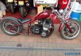 Motorcycle bobber Yamaha xs1100 fully rebuilt engine  for Sale