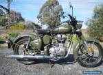 ROYAL ENFIELD  500cc CLASSIC LAMS APPROVED ARMY EDITION $5990 for Sale