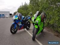 Kawasaki ninja zx6r 600cc motorcycle