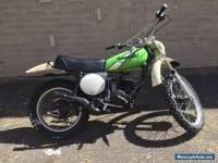 1975 Kawasaki KX