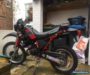 Kawasaki KMX 200 motorcycle black 1988 12 months MOT for Sale
