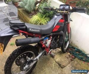 Motorcycle Kawasaki KMX 200 motorcycle black 1988 12 months MOT for Sale