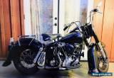 1958 Harley-Davidson Other for Sale