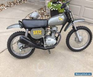 1974 Honda XR for Sale