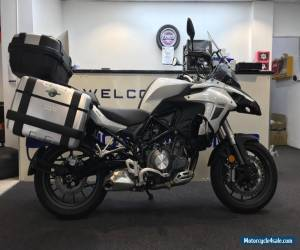 Benelli TRK 502 2017 with GIVI Luggage Motorcycle A2 licence legal  for Sale